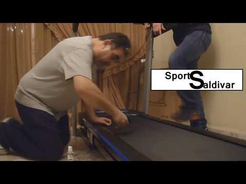 Aplicación de Lubricante Aceite Silicón para Caminadora Eliptica Treadmill Sport Saldivar