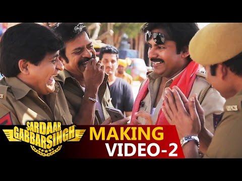 Sardaar Gabbar Singh Making Video - 2 || Power Star Pawan Kalyan ||