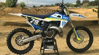 1. Project Pro Circuit Husqvarna TC125 2 Stroke - Motocross Action Magazine