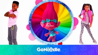 Video Trolls: Can't Stop The Feeling | GoNoodle MP3, 3GP, MP4, WEBM, AVI, FLV Agustus 2018