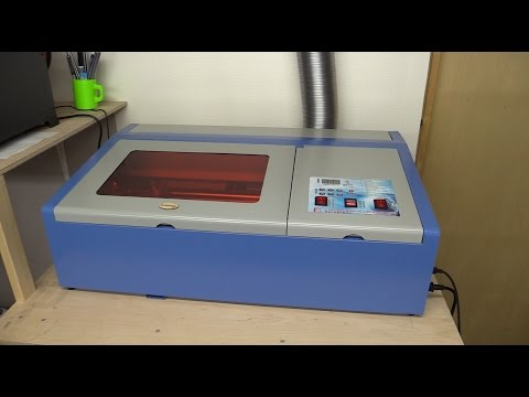 40W Chinese Laser Cutter: Review, Setup, Use - Ec-Projects