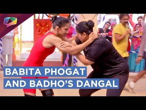 Komal aka Badho Gets Ready To Wrestle With Champ B