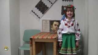 Діти в Українській школі «Веселка» читають вірші Шевченка
