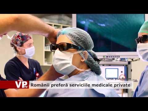 Românii preferă serviciile medicale private