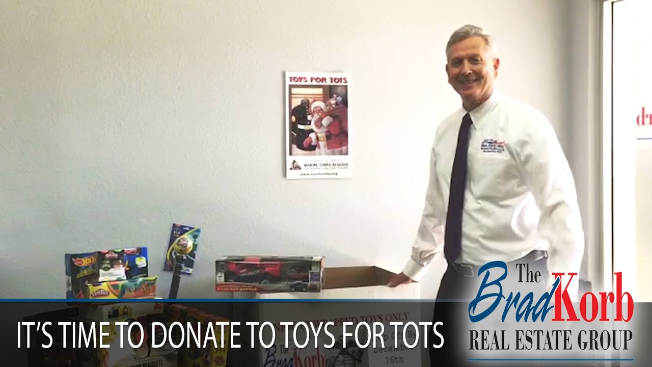 Help Us Donate to Toys for Tots This Winter