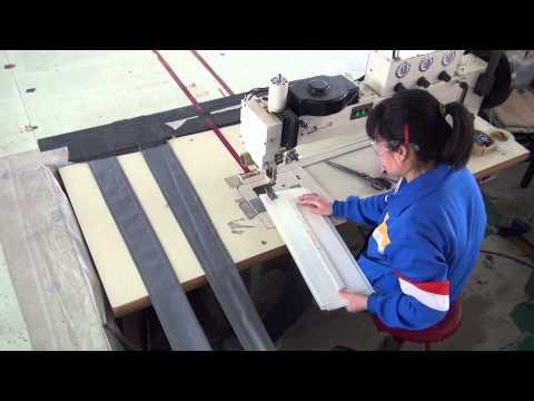 Adler 366 tipo máquina de zigzag de brazo largo para coser velas de barco