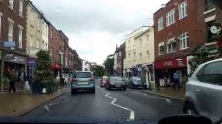 Morpeth United Kingdom  City new picture : ASMR Driving in the UK Morpeth to the A1 08/07/2015
