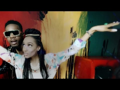 Di'ja Ft. Patoranking - Falling For You ( Official Music Video )