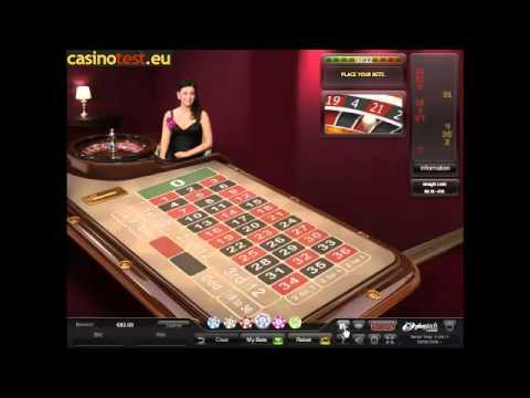 Live Dealer VIP Roulette Video