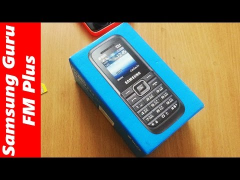 Samsung Guru FM Plus Dual SIM unboxing: cheap budget phone