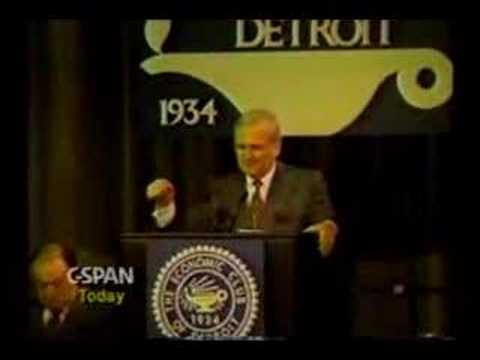 Lee Iacocca (Part 4) Talks About Japan Trade