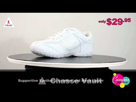 campusteamwearvideos - Chassé proudly introduces the latest addition to their cheerleading shoe line, the Chassé Vault - a high-quality and durable cheer shoe available at an unbea...