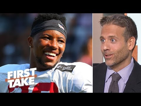 Video: Saquon Barkley is the best running back prospect that ever lived – Max Kellerman   First Take