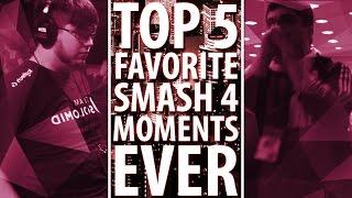 Top 5 FAVORITE Smash 4 Moments EVER – ZeRo
