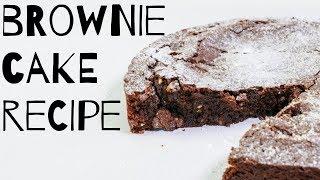 Chocolate Brownie Cake Recipe by  My Virgin Kitchen