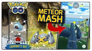 NOWY METEOR MASH! BELDUM COMMUNITY DAY W POKEMON GO!