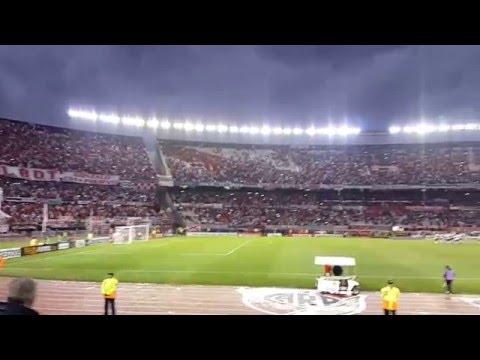 Recibimiento / Mi buen amigo - River vs San Pablo (Copa Libertadores 2016  ) - Los Borrachos del Tablón - River Plate - Argentina - América del Sur