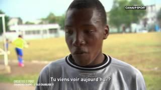 reportage sur les inégalités et le développement du football en Guadeloupe par rapport à la Métropole par le journaliste cyril domanico de Canal+ dans ...