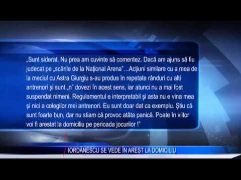 IORDĂNESCU SE VEDE ÎN AREST LA DOMICILIU
