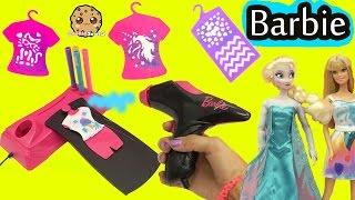 Video Airbrush Designer Maker - Make Custom Doll Clothing for Barbie + Disney Frozen Queen Elsa MP3, 3GP, MP4, WEBM, AVI, FLV September 2019