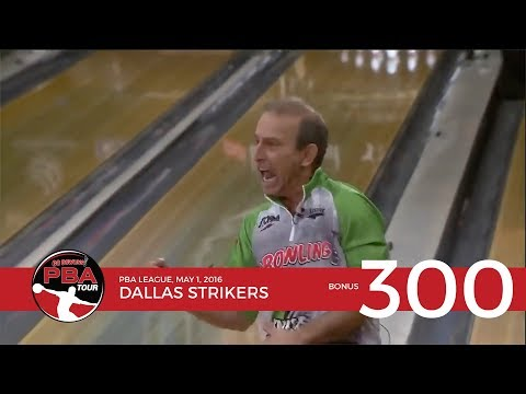 PBA Televised 300 Game Bonus: Dallas Strikers