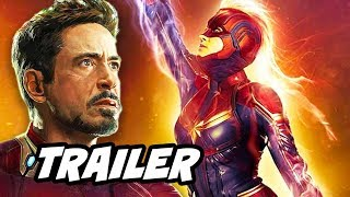 Captain Marvel Super Bowl Trailer - Avengers Marvel Easter Eggs Breakdown