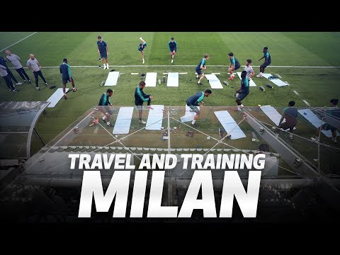 Video: BEHIND THE SCENES | Spurs travel to Milan and prepare for Inter