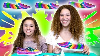 Hi Guys!  This week, Madison & Sierra sat down to create these super cute DIY Sharpie Tye Dye Shoes!  We love DIY tutorials and these help complete your fun summer outfit ideas!  Let us know if YOU make a pair in the comments below!Our names are Madison (16), Gracie (15), Sierra (13) and Olivia (11) and together we are the Haschak Sisters! We have been dancing all of our lives and LOVE music!  We started this YouTube channel to share our music and hope you'll join us on our journey!  We love meeting new friends!Like our music? We would LOVE to connect with you online and let you know when we upload future videos! If you like THIS music video and want to help spread the word, it's easy! Simply LIKE, FAVORITE, COMMENT and SHARE this video with YOUR friends on Facebook, Twitter & Instagram! That really helps a lot! We love you!! xoxoOFFICIAL HASCHAK SISTERS LINKSHaschak Sisters Gear Storehttp://Shop.HaschakSisters.comYouTubehttp://YouTube.com/HaschakSistersFacebookhttp://Facebook.com/HaschakSistersTwitterhttp://Twitter.com/HaschakSistersInstagramhttp://Instagram.com/HaschakSisters