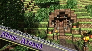 Minecraft, Hobbit Themed Build, Lord of The Rings Inspired, By Jeracraft