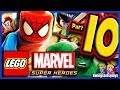 LEGO Marvel Super Heroes Walkthrough Part 10 Thor's Sinking Adventure!
