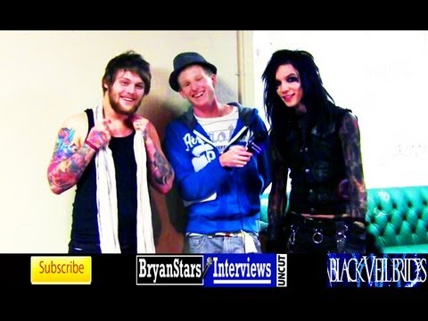 bryanstars - Checkout my backstage interview with Black Veil Brides lead singer Andy Biersack and Asking Alexandria lead singer Danny Worsnop Watch BEHIND THE SCENES foot...