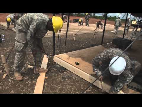 In this week's AFRICOM Update, engineers continue to build Ebola Treatment Units in Liberia, while a special facility for infected healthcare workers nears completion.