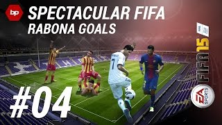 A tutorial on how to score with a rabona!Subscribing would be highly appreciated - http://goo.gl/oJVMLG▼Click here for additional information! :-)• Pre-order FIFA 15 and support bPartGaming for free!http://goo.gl/fHGIcGThanks!• Spectacular FIFAIn this video-series, we provide you with tutorials and tipps, how you can turn up your FIFA gameplay with some awesome skills and moves. Have fun!• Social MediaFacebook: http://bit.ly/bPG-FacebookTwitter: http://bit.ly/bPG-TwitterGoogle+: http://bit.ly/bPG-Googleplus