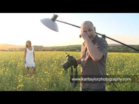 fashion shoot - Get More FREE Training Videos at my website: http://www.karltaylorphotography.com/Free On this shoot I show the techniques for lighting on location for some ...
