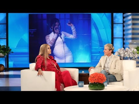 Cardi B Showed Ellen How She Got Pregnant (видео)