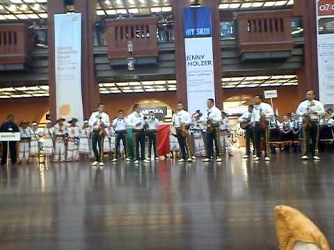 Światowy Przegląd Folkloru INTEGRACJE 2011 - Meksyk w Starym Browarze