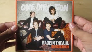 Made In The A.M. ( Album Deluxe Edition ) - One Direction - Unboxing CD en Español