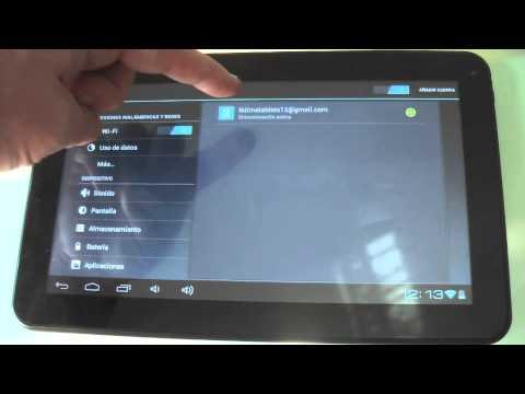 Introducción a la tableta Siroco 3