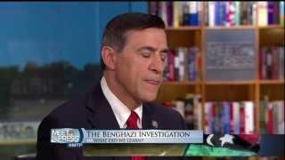 Issa Breaks Down Benghazi on Meet the Press
