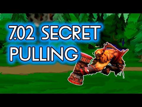 Dota 2 Tricks: 7.02 Secret Pulling with Earthshaker!