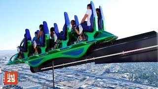 Download Lagu 25 SCARIEST Amusement Park Rides In The World Mp3
