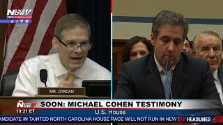 MUST WATCH: Jim Jordan RIPS Democrats and Michael Cohen Ahead of Testimony