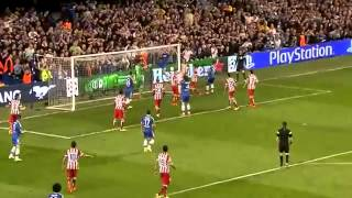 Thibaut Courtois´ in Hochform gegen den FC Chelsea