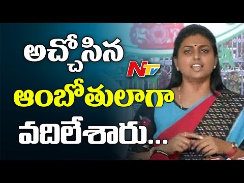 MLA Roja Sensational Comments On TDP Leaders