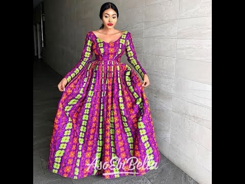 2019 LATEST #AFRICAN DRESSES & STYLES: COLLECTIONS OF LONG #ANKARA #ASOEBI DRESSES & STYLES 2019
