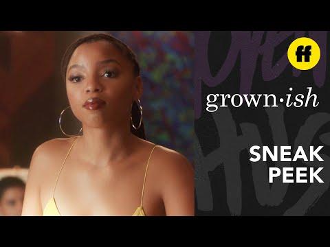 grown-ish Season 3, Episode 9 | Sneak Peek: Jazz Keeps A Close Eye On Doug | Freeform