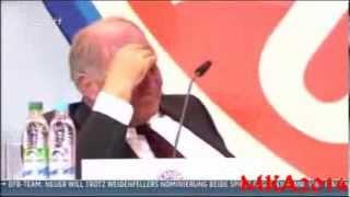 Uli Hoeneß weint auf Jahreshauptversammlung 2013