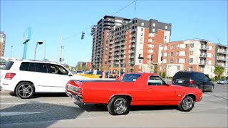 Laval (QC) Canada  City new picture : CLASSIC CARS DRIVING IN LAVAL QUEBEC, CANADA