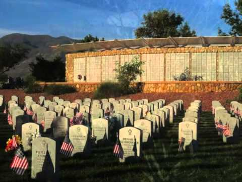 Southern Arizona Veterans' Memorial Cemetery Foundation video with Taps