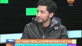 Cristian Morales representara a Peru, por que se canso de la falta de apoyo en Bolivia, el dice que se sintio traicionado.